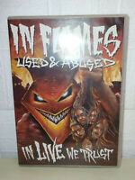 IN FLAMES - USED AND ABUSED… IN LIVE WE TRUST - 2 DVD
