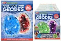 Make your Own Geodes World Of Science Crystals & Rock Growing Kit Learning 9736