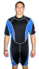 Men's Shorty Wetsuit 3MM Large Model 9804