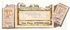 AT263 1932 GB Sunderland LNER RAILWAY PARCEL Stamps Piece London {samwells}PTS