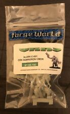 WH40K FORGE WORLD LIMITED EDITION ORK SQWADRON COMMANDER EVENT ONLY 2007