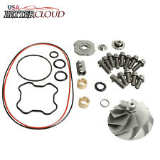 Upgraded Turbo Compressor Wicked Wheel TP38 GTP38 For 7.3L Ford Powerstroke