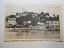 Old Postcard, Cape Ann, Massachusetts, Wonasquam Lodge From Club House, Assisqua