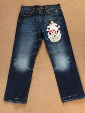 ED HARDY LOVE KILLS SLOWLY Jeans 40 x 34 AWESOME CONDITION
