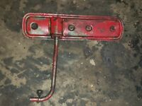 Farmall M Early SM Tractor IH engine Motor side cover panel w  vent tube mount