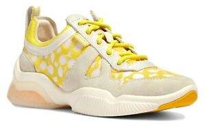 COACH CITYSOLE RUNNER SNEAKERS Yellow Size 6.5 MSRP: $228.00