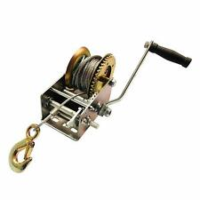 32' Cable Boat Trailer Winch (3200 Pound Rated)