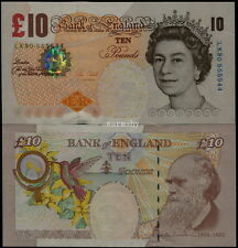 Great Britain UK England 2000 Millenium Banknotes 10 Pounds UNC