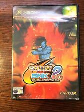 Capcom Vs SNK 2 EO (Microsoft XBOX) Complete Street Fighter 2D PAL