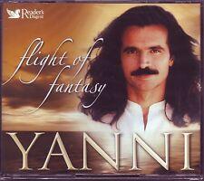 YANNI - Flight Of Fantasy  - Reader's Digest  3 CD Box