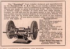 1915 AD  TOOL GRINDER STANDARD MACHINE CO