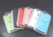 Funda trasera SILICONE para iphone 5 5s SE maxima Calidad silicona