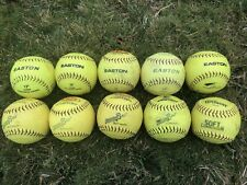 lot of 10 softballs 12 inch Incrediball Soft Compression Training Free Shipping