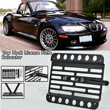 For 96-02 BMW Z-Series Z3 M-Sport Front Tow Hook License Plate Relocator Bracket