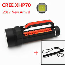 LED Diving Flashlight Torch CREE XHP70 High Brightness Underwater White Light