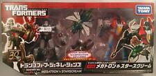 TG-28 MEGATRON & STARSCREAM Takara Tomy Transformers Generations
