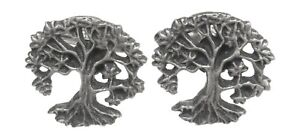Tree Of Life Cufflinks Pewter Gift Boxed or Pouched QUANTITY DISCOUNT 515