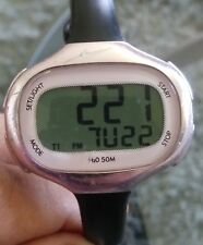 Womens Nike sport watch  Pink Easy Read Day Date aluminum case .nice