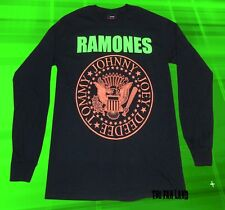 New The Ramones Presidential Seal Men's Long Sleeve Vintage Classic  T-shirt