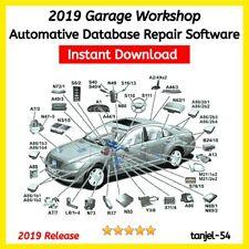2019 Car Workshop🔧 Database Garage ⚙️Repair data 🔧Software Technical⚙️