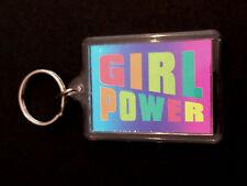 THE SPICE GIRLS / EMMA BUNTON GIRL POWER - VINTAGE 1990's ORIGINAL KEYRING. POP