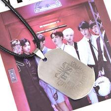 Kpop Star Bangtan Boys BTS Necklace Titanium Steel JUNG KOOK JIMIN V SUGA JHOPE