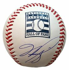 MIKE PIAZZA SIGNED AUTO OFFICIAL HALL OF FAME BASEBALL MLB AUTHENTICATION