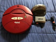 Red iRobot Roomba 4100 w/Battery, Home Base & Charger - Working Condition