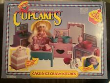 Tonka Cupcakes Cake and Ice Cream Kitchen, Vintage 1990's Playset (Never Opened)