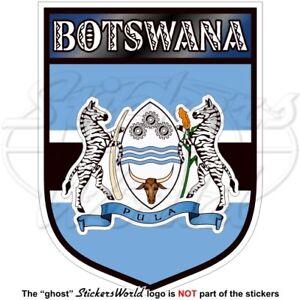 BOTSWANA Botswanisches Schild Südafrika 100mm Auto Aufkleber Sticker Vinyl