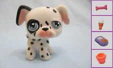 Littlest Pet Shop Dog Dalmatian 44 and Free Accessory Authentic Lps