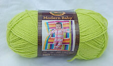 "Lion Brand ""Modern Baby"" in Chartreuse - New & Smoke Free Home"