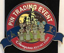 Disney DLRP Phantom Manor Event Super Jumbo Donald Chip Dale Mickey LE 400 Pin