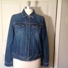 Women's Abercrombie and Fitch Denim Trucker Jacket Size L