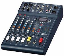 Studiomaster Club XS 6 - 6 Input Live Mixer With USB and Bluetooth DJ Duo Mixer