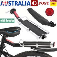 MTB Bicycle Bike Rear Seat Rack Bag Luggage Carrier Fender Set for 20-32mm Rod
