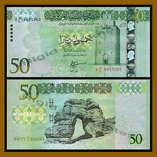 Libya 50 Dinars, ND 2014 P-80 Unc