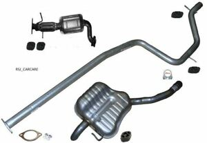 FORD S-MAX 1.8 TDCI 06-10 Exhaust Complete System Cat, Centre & Rear Box No Dpf