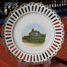 Rare ST JAMES MINNESOTA small ANTIQUE plate w/pic ARMSTRONG School