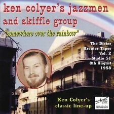 Somewhere Over the Rainbow by Ken Colyer (CD, Oct-2001, Upbeat) JAZZ & SHIFFLE