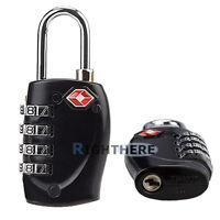 6X TSA APPROVED COMBINATION PADLOCK TRAVEL SUITCASE LUGGAGE LOCKS 4-DIAL LOCK