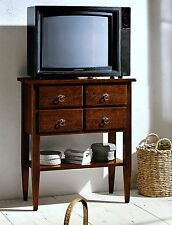 MOBILE PORTA TV IN LEGNO CON 4 CASSETTI FIN. NOCE x SOGGIORNO SALA SOFA 5979