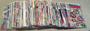 MARVEL UK LOT(9.2-9.8)(NM- TO NM/MT)96 ISSUES-MARVEL