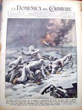 131) 1943 GUERRA IN RUSSIA NUOVA DIVISA TEDESCA PER FREDDO DOMENICA DEL CORRIERE