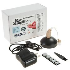 MEDca High Quality Rechargeable Ear Hearing Amplifier Device Enhancer BET