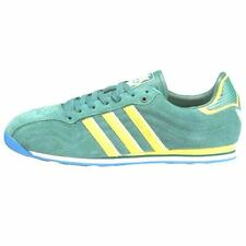 Adidas ADI TR Classic 3 Stripe Suede Shoes Mens 12 47 Green Yellow Packer Soccer