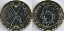 3 Euros  ESLOVENIA 2009 Aviador EDVARD RUSJAN  UNC BIMETAL