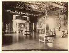 Pau le Grand Salon Vintage albumen print  Tirage albuminé  17x22  Circa 18