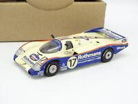 Automany Kit Monté 1/43 - Porsche 962 C Winner Le Mans 1987 Rothmans
