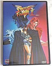 Street Fighter II Volume 2 DVD Manga Video Anime 7 Episodes 8-14